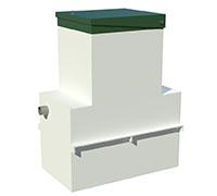 Жироуловитель (сепаратор жиров) ОТП-3 LONG