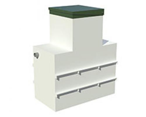 Жироуловитель (сепаратор жиров) ОТП-5 LONG